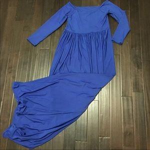Dresses & Skirts - Beautiful Royal Blue Maternity Photo Dress
